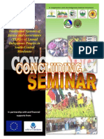 LDCI CONCLUDING SEMINAR - Tentative Program, V. 4 Aug, 2014