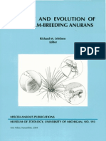 Ecology and Evolution of Phytotelm-Breeding Anurans