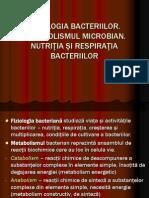 FIZIOLOGIA BACTERIILOR