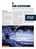 Fiat 131 Abarth Motore