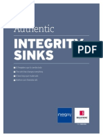 Authentic Integrity Sinks Digital