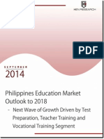 Philippines Higher Education Industry, Learning Sector Market Report