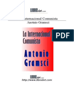 Antonio Gramsci - La Internacional Comunista