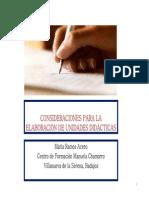 Elaboración de Unidad Didáctica PDF