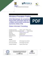 Ghid Metodologic de Completare Formular Situatia Actiunilor-Alte Participatii (NOTA31B)_v3.0