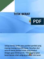 TITIK_BERAT