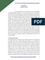 Internship Report on Mercantile Bank LTD