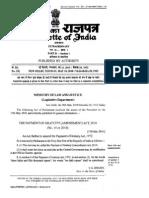 Gratuity Act (Gazette Notifications) [1]