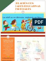 Población Con Necesidades Educativas Especiales Diapositivas 2