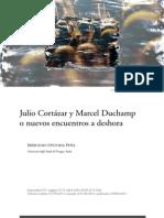 Cortazar y Marcel Duchamp en La Vuelta y Ultimo Round. de Mercedes Ontoria