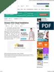 Amazon EC2 Cloud Installation