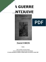 Kimon Daniel - La Guerre Antijuive