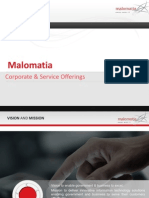 Malomatia Corporate Presentation