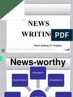 News Writing Presentation