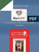 3 - Varieties of Love (Soble)