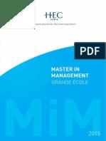 Brochure MiM GE 2015