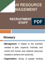 1. Human Resource in Health