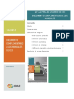 Documento Complementario Manuales CE3