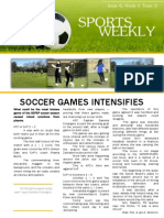 soccer newsletter issue 4