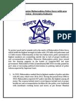 BJP to Revolutionize Maharashtra Police Force With New Vision - Devendra Fadnavis