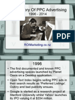 The History Of Pay Per Click Marketing
