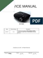 Optoma EH1020 V1.0  Service Manual