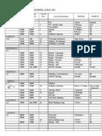 Transport Booking Sheet