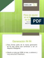 Pisos en Alquiler en El Sardinero de Santander
