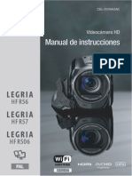 Legria Hf r56 Legria Hf r57 Legria Hf r506 Instruction Manual Es