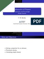 Finance Simple English