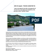 Meditacion Sobre Las Aguas - Honda Ciudad Del Rio Publico G