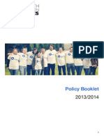 Full Policy Booklet (September 2014)