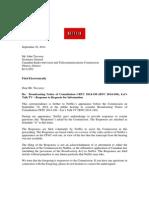 Netflix Letter - Undertakings