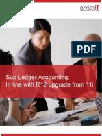 Sub Ledger Accounting