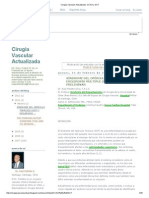 Cirugía Vascular Actualizada_ CCSVI y SOT