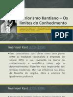 Apriorismo Kantiano – Os limites do Conhecimento (1).pptx