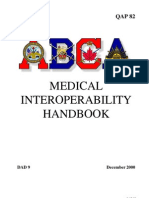 B-GL-343-002 ABCA Medical Interoperability Handbook