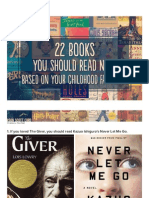 22 Books You Should Read Now, Based on Your Childhood Favorites
