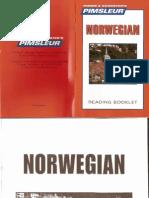07 Norwegian I Comprehensive Reading Booklet