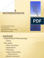 Bioassay & Biostandardisation
