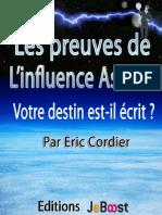 Eric Cordier - Les Preuves de l'Influence Astrale