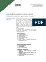 Caracteristicas de Modulo Comap