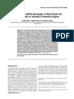 PAI-1 Gene 4G-5G Genotype