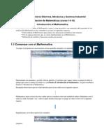 Guia 1 Introduccion Al Mathematica Ing Ind
