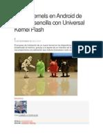 Instala Kernels en Android de Manera Sencilla Con Universal Kernel Flash