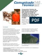 Composição Florística de Leguminosas Com Potencial Para Fixação Biológica de Nitrogênio Em Áreas de Vegetação de Canga