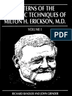 Richard Bandler - Patterns of the Hypnotic Techniques of Milton Erickson I