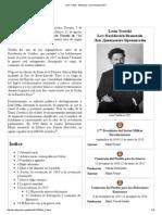 León Trotski - Wikipedia, La Enciclopedia Libre