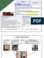 Ficha de Seguridad Taladro Pedestal