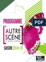 Programme L'Autre Scène Saison 14-15